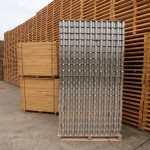 Block Pallet Loaded with Aluminium Beverage Cans