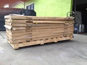 2m wide pallet
